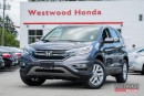 Used 2015 Honda CR-V EX-L - Factory Warranty until 2021 for sale in Port Moody, BC