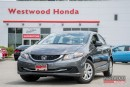 Used 2013 Honda Civic DX (M5) - Factory Warranty until 2020 for sale in Port Moody, BC