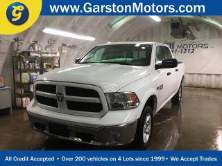 Used 2016 Dodge Ram 1500 OUTDOORSMAN*CREW CAB*4WD*HEMI*FRONT TOW HOOKS*TRAILER HITCH w/PIN CONNECTOR*PLASTIC BED LINER*POWER WINDOWS/LOCKS/HEATED MIRRORS*ALLOYS*U CONNECT PHONE*AM/FM/XM/CD/AUX/USB/BLUETOOTH*TRAILER BRAKE CONTROL*CRUISE CONTROL for sale in Cambridge, ON