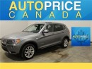 Used 2014 BMW X3 EXECUTIVE NAVIGATION PANOROOF PKG for sale in Mississauga, ON