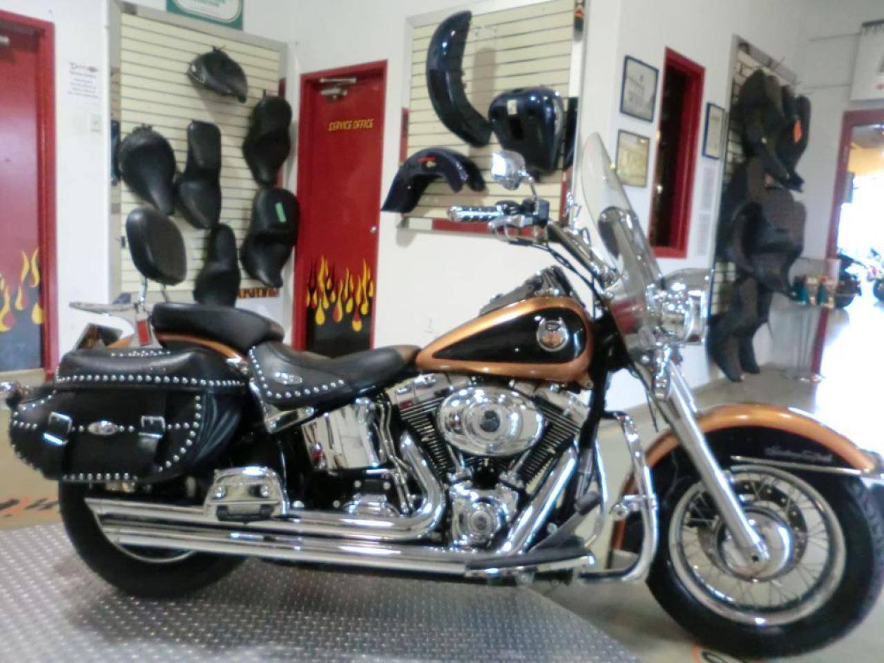 2008 Harley-Davidson Heritage Softail Classic FLSTC 105 TH ANNIVERSARY