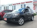 Used 2013 Honda CR-V EX-L - Leather - Roof - Alloys - R.Cam for sale in Mississauga, ON