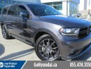 Used 2017 Dodge Durango Red leather Nav LOW KM for sale in Edmonton, AB