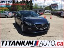 Used 2014 Mazda MAZDA3 GS+GPS+Camera+BlueTooth+New Brakes+Skyactiv+Cruise for sale in London, ON