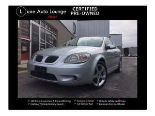 Used 2008 Pontiac G5 GT - AUTO, SUNROOF, XM RADIO, LOADED!! for sale in Orleans, ON