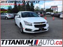 Used 2015 Chevrolet Cruze LT+Camera+Mylink+Bluetooth+Remote Starter+XM+Turbo for sale in London, ON