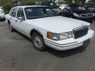 Used 1991 Lincoln Town Car for sale in Surrey, BC