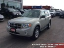 Used 2009 Ford Escape XLT  - $97.27 B/W - Low Mileage for sale in Woodstock, ON