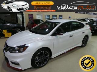 Used 2017 Nissan Sentra Nismo NISMO| NAVIGATION| 6SPEED for sale in Woodbridge, ON