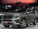 Used 2015 Mercedes-Benz ML 350 AMG|NAVI|360CAM|B.SPOT|PANO|BLUETEC for sale in North York, ON