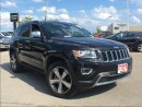 Used 2016 Jeep Grand Cherokee LIMITED**POWER SUNROOF**LEATHER HEATED SEATS** for sale in Mississauga, ON