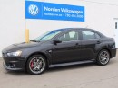 Used 2012 Mitsubishi Lancer Evolution MR for sale in Edmonton, AB