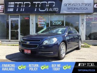 Used 2010 Chevrolet Malibu LT ** Bluetooth, Remote Start, Low Kms ** for sale in Bowmanville, ON