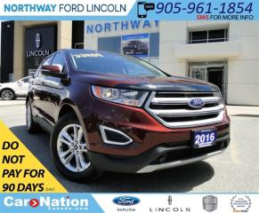 Used 2016 Ford Edge SEL | AWD | PANO ROOF | NAVI | CAMERA | for sale in Brantford, ON