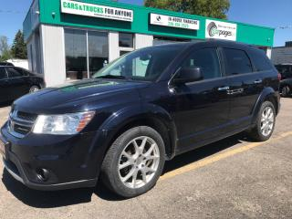 Used 2011 Dodge Journey R/T l LEATHER l AWD for sale in Waterloo, ON