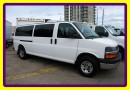 Used 2011 Chevrolet Express 3500 EXT.VAN 15 PASSENGER CHROME AND TOWING PKG, LOADED for sale in Woodbridge, ON