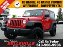 Used 2014 Jeep Wrangler Sport 4X4 Hard TOP - Automatic - A/C - ONE Owner for sale in Belleville, ON