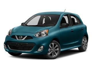 New 2017 Nissan Micra 1.6 SV at for sale in Mississauga, ON