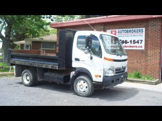 Used 2009 Hino 155 11' Dump Bed - Super Low Kms! for sale in Elginburg, ON