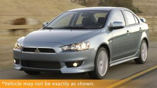 Used 2009 Mitsubishi Lancer SE for sale in Winnipeg, MB