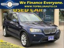 Used 2013 BMW X3 xDrive28i, Panoramic Sunroof, CLEAN CARPROOF for sale in Concord, ON