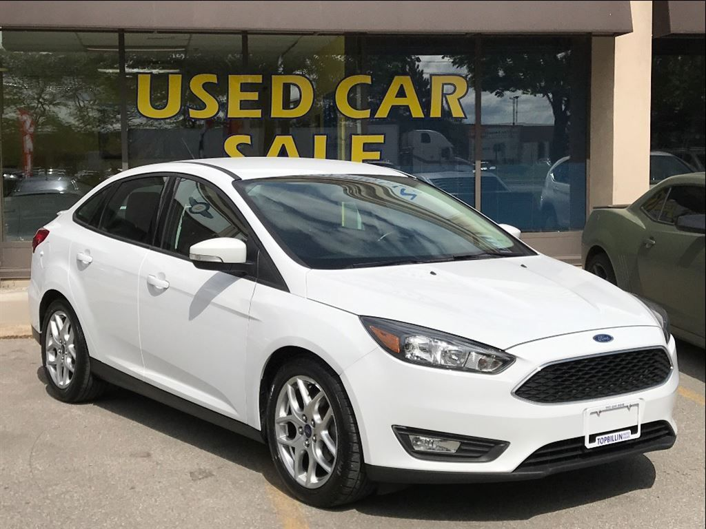 2015 Ford Focus SE Automatic, BLUETOOTH, Only 58K kms