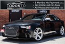 Used 2013 Audi RS5 4.2 S-tronic+450 hp+Navigation+Back up Camera for sale in North York, ON