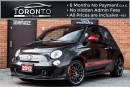 Used 2012 Fiat 500 Abarth ABARTH+5 SPEED+RED LEATHER SEATS+TURBO CHARGED for sale in North York, ON