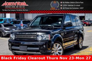 Used 2012 Land Rover Range Rover Sport Supercharged|4x4|Sunroof|Nav|RearCam|HtdSeats|20