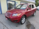 Used 2010 Hyundai Santa Fe 'GREAT KM'S' POWER EQUIPPED GLS MODEL 5 PASSENGER 2.4L - DOHC.. CD/AUX/USB INPUT.. KEYLESS ENTRY.. for sale in Bradford, ON