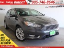 Used 2016 Ford Focus Titanium| NAVI| LEATHER| SUNROOF| for sale in Burlington, ON