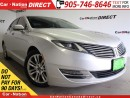 Used 2013 Lincoln MKZ | LEATHER| BACK UP CAMERA| TOUCH SCREEN| for sale in Burlington, ON
