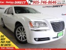 Used 2012 Chrysler 300 Limited| LEATHER| PANO ROOF| TOUCH SCREEN| for sale in Burlington, ON