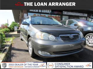 Used 2006 Toyota Corolla S for sale in Barrie, ON