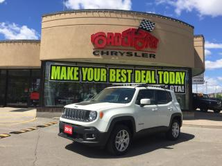Used 2016 Jeep Renegade NORTH 4X4 4DR for sale in Scarborough, ON