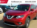 Used 2016 Nissan Rogue NAVIGATION, LEATHER, LOW KM'S!! for sale in Edmonton, AB