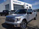 Used 2014 Ford F-150 Lariat 4x4 SuperCrew Cab 6.5 ft. box 157 in. WB for sale in Peace River, AB