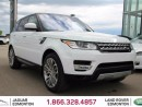 Used 2017 Land Rover Range Rover Sport HSE TD6 - CPO 6yr/160000kms manufacturer warranty included until April 16, 2023! CPO rates starting at 2.9%! Local Alberta Trade In | No Accidents | 3M Protection Applied Including Full Hood | Navigation | Surround Camera System | Factory Remote Sta for sale in Edmonton, AB