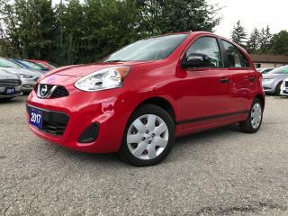 Used 2017 Nissan Micra SV  ** 119 km ** for sale in Bradford, ON