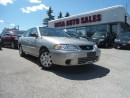 Used 2002 Nissan Sentra 4dr Sdn XE Auto LOW KM 95000 SAFETY ETEST A/C CLEA for sale in Oakville, ON