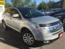 Used 2009 Ford Edge Limited/AWD/NAVI/LEATHER/ROOF/LOADED/ALLOYS for sale in Pickering, ON