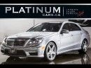 Used 2010 Mercedes-Benz E-Class E63 AMG, 518 HP, NAV for sale in North York, ON