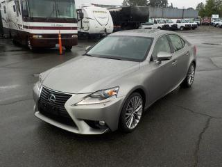 Used 2014 Lexus IS 250 AWD for sale in Burnaby, BC