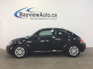 Used 2016 Volkswagen Beetle TRENDLINE- PANOROOF! AUTO! REVERSE CAM! A/C! for sale in Belleville, ON