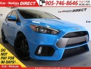 Used 2016 Ford Focus RS | 350 HP| RECARO SEATS| AWD| BREMBO BRAKES| for sale in Burlington, ON