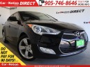 Used 2012 Hyundai Veloster | TOUCH SCREEN| BACK UP CAMERA| LOCAL TRADE| for sale in Burlington, ON