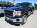 Used 2015 GMC Sierra 1500 WORK READY SLE EDITION 6 PASSENGER 4.3L - V6.. 4X4.. CREW.. SHORTY.. AUX/USB INPUT.. BACK-UP CAMERA.. TOW SUPPORT.. for sale in Bradford, ON