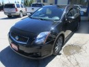 Used 2010 Nissan Sentra LOADED SE-R MODEL 5 PASSENGER 2.5L - DOHC.. CD/AUX/USB INPUT.. POWER SUNROOF.. NAVIGATION.. XTRONIC CVT.. for sale in Bradford, ON