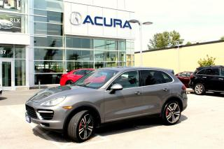 Used 2012 Porsche Cayenne Turbo w/ Tip for sale in Langley, BC