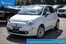 Used 2012 Fiat 500 Lounge Sunroof and Satellite Radio for sale in Port Coquitlam, BC